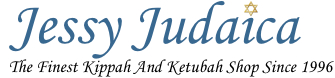 Jessy Judaica Logo - The Finest Kippah and Ketubah Ship Since 1996